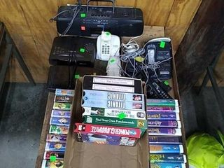 4 Flats Of Vhs Tapes, Disney, Misc. Electronics