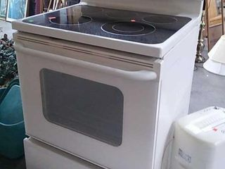 Ge Glass Top Electric Stove