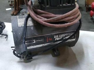 Craftsman Air Compressor Paint Sprayer: Untested