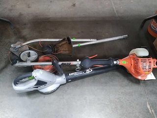 Echo Weedeater & Earth Wise Leaf Blower Untested