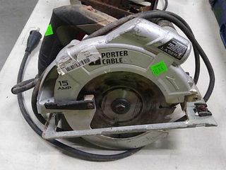 Porter & Cable Circular Saw Untested