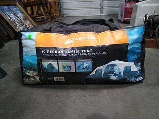 Ozark Trail 10 Person Tent Untested