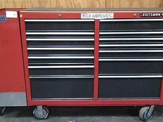 Craftsman Tool Box On Wheels 66x18x43