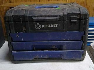 Kobalt Tool Box W/ Contents