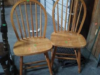 2 Spindleback Chairs