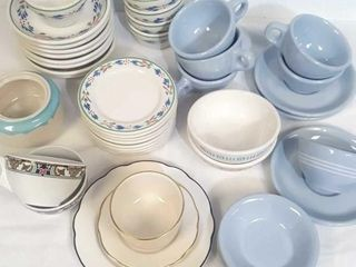 Assorted Buffalo & Syracuse China