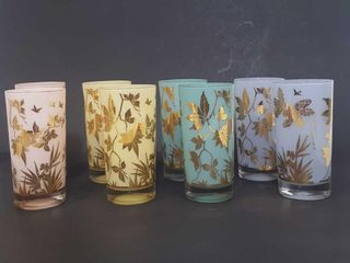 MCM Highball Pastel Glasses