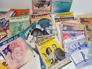 Collectible Sheet Music