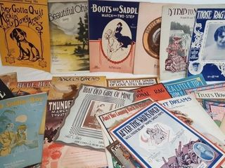 Antique Sheet Music Lot 3