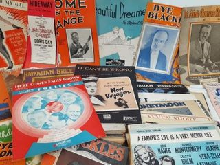 Antique Sheet Music Lot 7