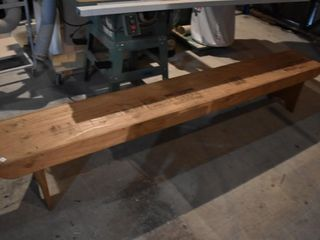 8 Ft Wooden Bench