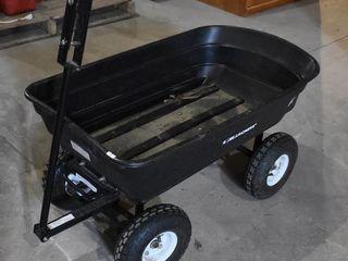 Rubber Tired Garden Wagon
