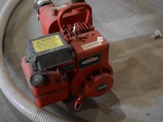 3 Hp 3' water Pump with Suction and Discharge