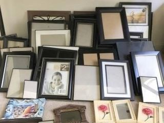 Large Lot of Picture Frames