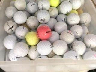Box of Golf Balls