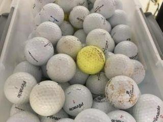 Box of Pinnacle Golf Balls