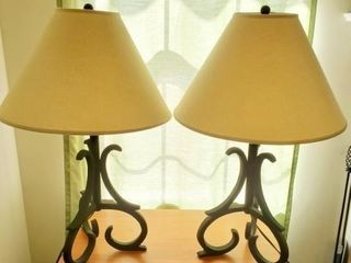Matching Table Lamps