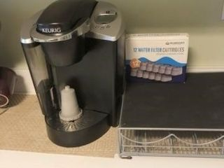 Keurig Coffee Maker with Pod Holder