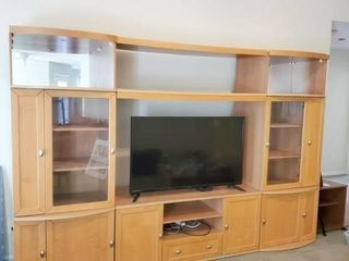Three Section Entertainment Center