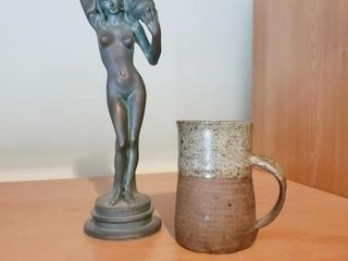 Decorative Figure and Cup