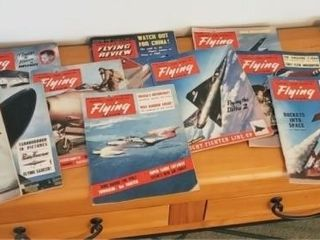 """Royal Air Force Flying Review"" Magazines"