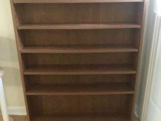 Wooden Veneer Bookcase