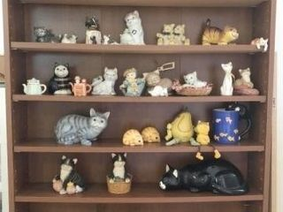 Collection of Cat Figurines