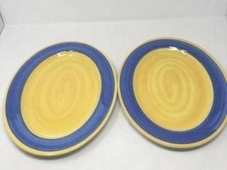 2 FURIO Serving Platters