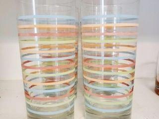 Multicolor Striped Glasses