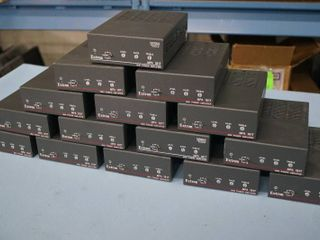 Lot of 15 Extron MPA 181T Integrated Mini Power Pro Audio Amplifiers with Power Supplies