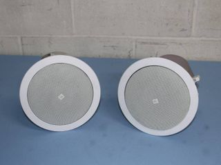 JBL Control 24CT Compact Pro Audio Background / Foreground Ceiling Speakers - PAIR