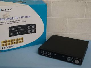 EverFocus Ever Focus 4-Channel 1080 CCTV Security Surveillance HD Analog DVR