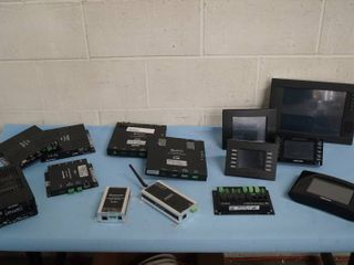 Lot of Miscellaneous Crestron Professional Wireless Control System Touch Panel Screens HDMI & More!