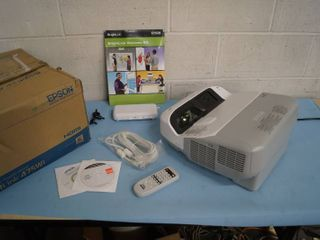 Epson BrightLink Bright Link 475Wi Short Throw Interactive WXGA 3LCD Projector w/ HDMI