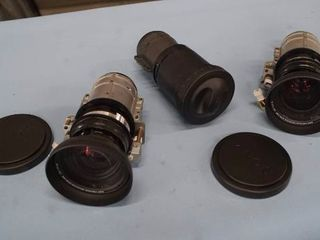 Lot of 3 Sony Professional VPL-Series LCD Projector Zoom Lenses