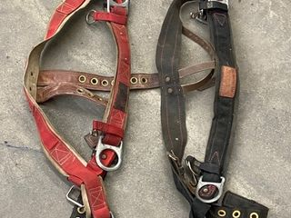 Lot Of (2) Commercial Tree-Climbing Safety Harness'