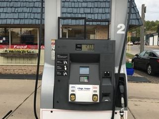 Dresser-Wayne Gas Station Pump