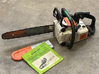 Stihl 011-AVT Chainsaw