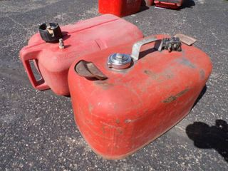 Pair of Boat Gas Tanks