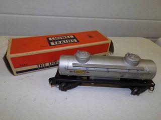 Vintage Lionel Sunoco Oil Tanker