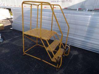 Industrial Step Ladder with platform