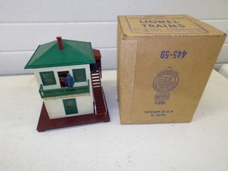 Vintage Lionel Operating Switch Tower #445