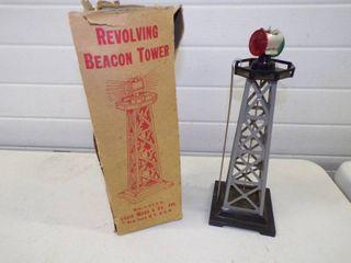Vintage Lionel Louis Marx Revolving Beacon Tower