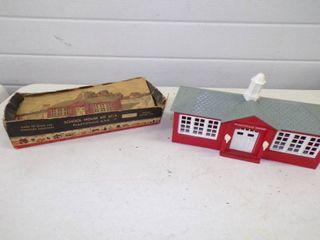 Vintage Plasticville School House