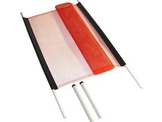 KidKusion Driveway Safety Net  18 ft  Orange