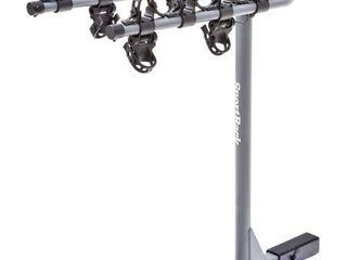 SportRack SR2414 4 Bike Towable Hitch Rack  Black  SlIGHTlY USED