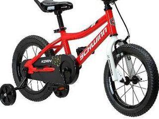 Schwinn Koen Boys Bike for Toddlers and Kids  14 Inch Wheels  Red
