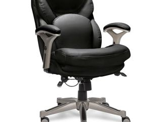Serta   Back in Motion Health   Wellness Task Chair   Black