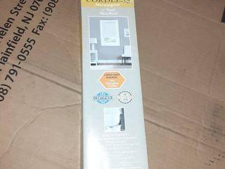 Achim Home Furnishings Cordless Morningstar 1  light Filtering Mini Blind  Width 34inch  Pearl White