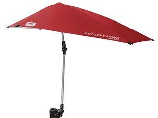 Sport Brella Versa Brella 4 Way Swiveling Sun Umbrella  Firebrick Red